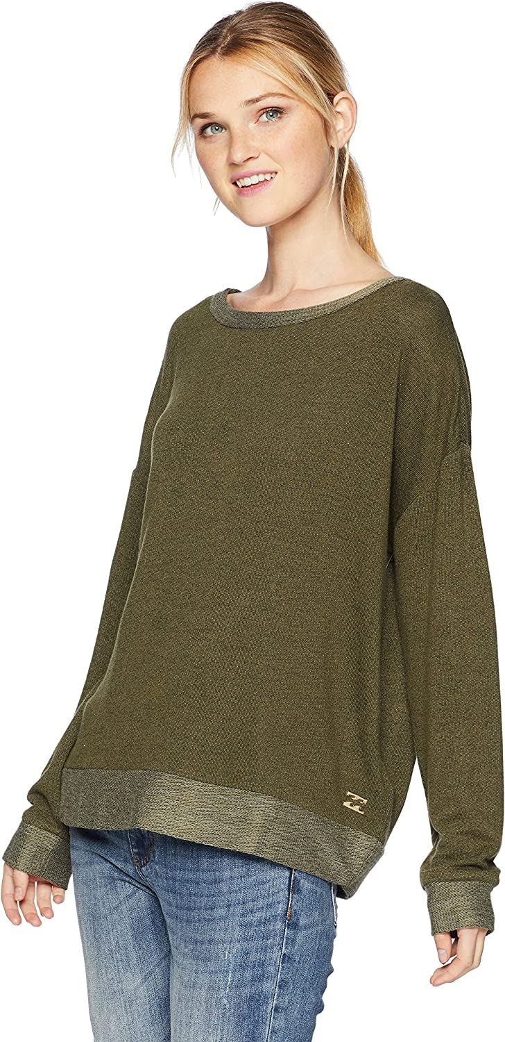 Billabong Women's Let Go French Terry Crew