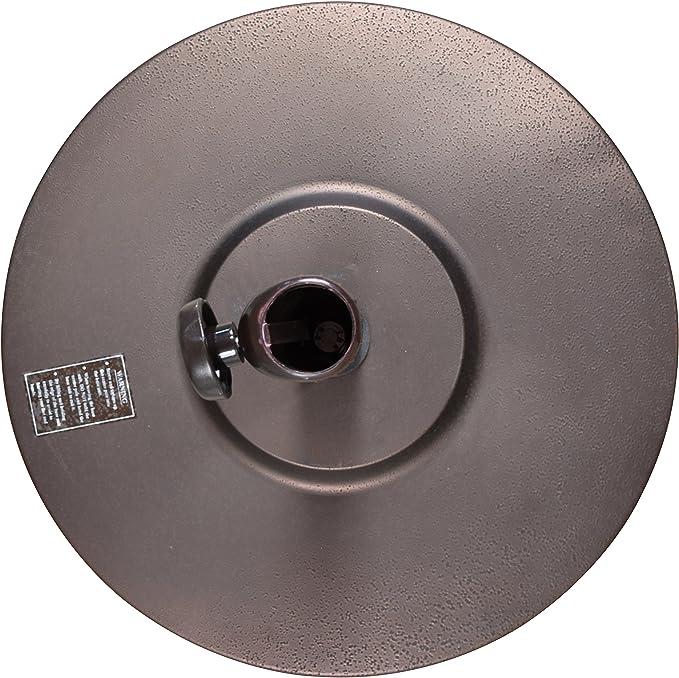 Bronze NEW Details about  /Umbrella 50 lbs Universal Concrete filled California Umbrella Base