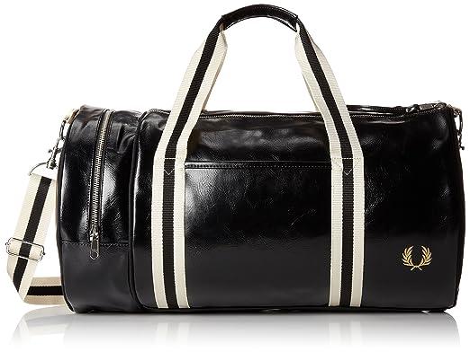 unique Taille Classic Noir Fred Barrel Sac Bag Perry bandoulière 08pq87
