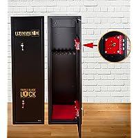 Armoire à Fusils Ultimate Safe® Coffre Fort Pour Armes à Feu Pour 7 Carabines, Armoire Avec Serrure Triple Blade Lock