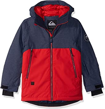 Quiksilver Boys Big Mission Engineered Youth 10k Snow Jacket