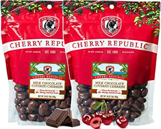 product image for Cherry Republic Milk Chocolate Cherries - Authentic & Fresh Milk Chocolate Covered Cherries Straight from Michigan - 2 x 16 Ounces