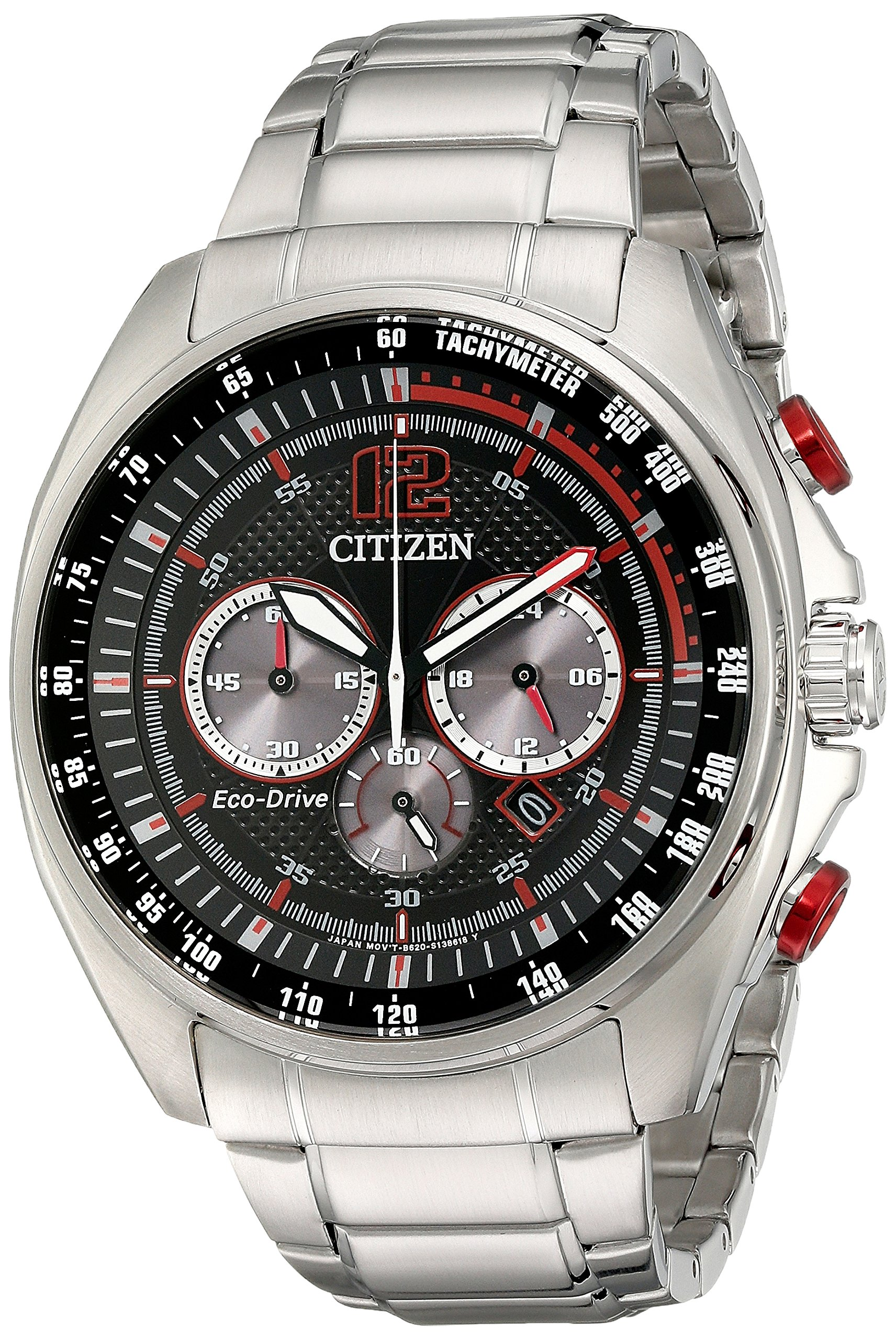 Citizen Men's CA4190-54E Drive from Citizen Eco-Drive Silver-Tone Watch by Citizen