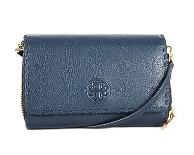 bbfe8690b13 Amazon.com  Tory Burch Marion Flat Wallet Crossbody Bag