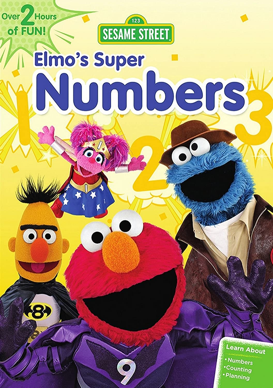Amazon com: Sesame Street: Elmo's Super Numbers: Joey Mazzarino