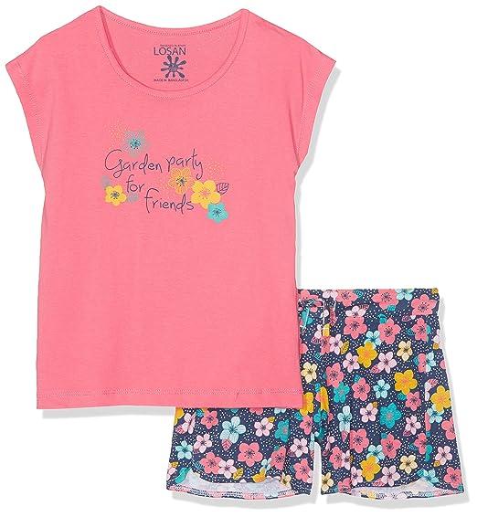 196855120e560 Losan Girl's Clothing Set: Amazon.co.uk: Clothing