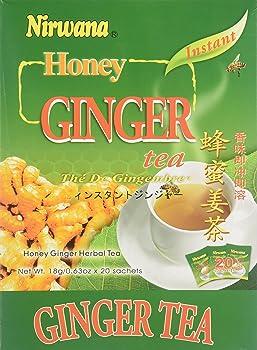 NIRWANA 20 Sachets Honey Ginger Tea