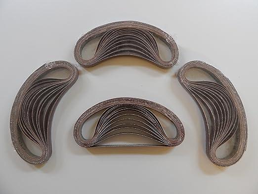9 opinioni per 48 pcs tessuti-nastri abrasivi 13 x 457 granuli per 8 x 40/60/80/120/180/240 per