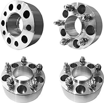 """4Pcs 5x4.5 to 5 x 4.5 Wheel Spacers Adapters Thick 1//2/"""" Studs 5lug 82.5mm"""