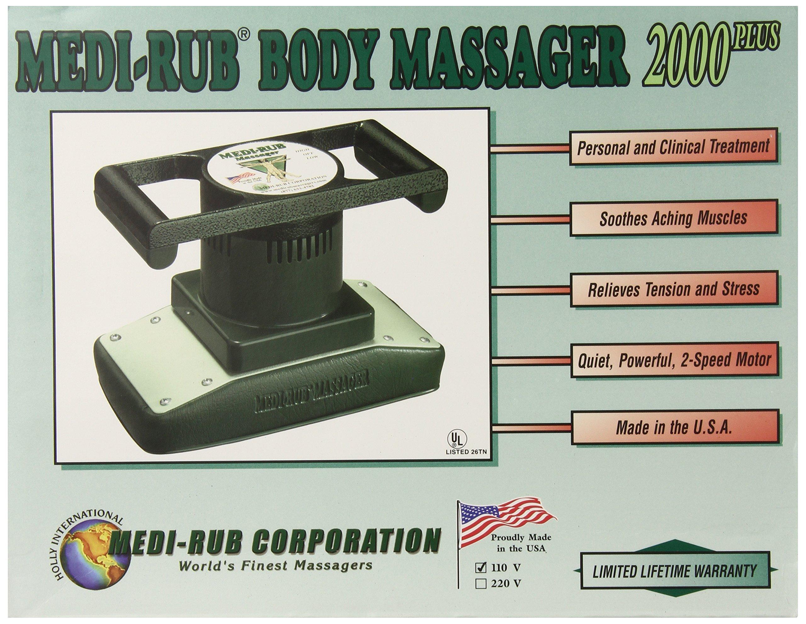Medi-Rub Handheld Body Professional Massager