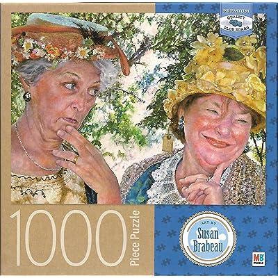 Best Friends Art by Susan Brabeau 1000 Piece Puzzle: Toys & Games