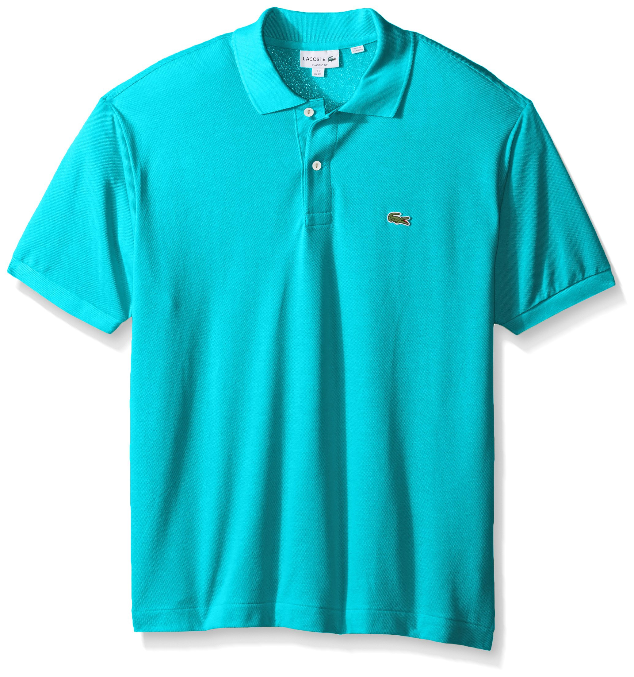 d7b5179f Galleon - Lacoste Men's Short Sleeve Pique L.12.12 Classic Fit Polo Shirt,  L1212, Atoll Small