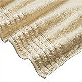 Stone & Beam Tencel Bath Towels, Set of 2, Ivory