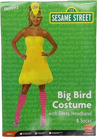 Smiffys - Disfraz de la gallina Caponata (Barrio Sésamo) para ...