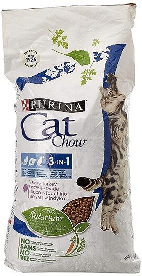 Purina Cat Chow 3en1 Gato Adulto Buey 15 Kg: Amazon.es: Productos para mascotas