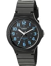 Casio Men's 'Easy To Read' Quartz Black Casual Watch (Model: MW240-2BV)
