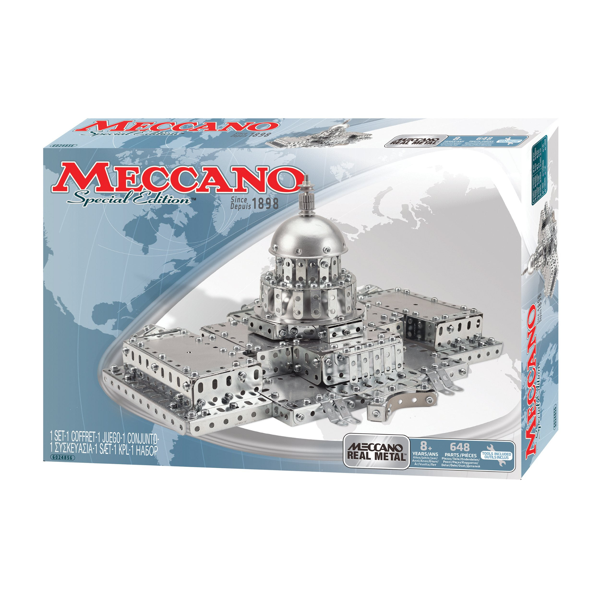 Meccano Special Edition Erector Set United States Capitol Building