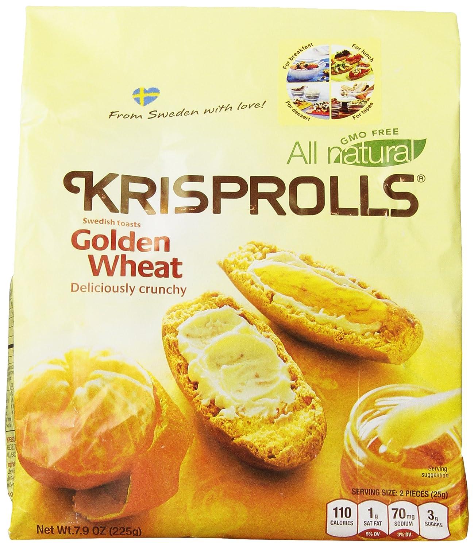 Pagen Krisprolls, Golden Wheat, 7.9 Ounce (Pack of 5)