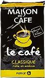 MAISON DU CAFE Classique Café Moulu 225g - Lot de 6