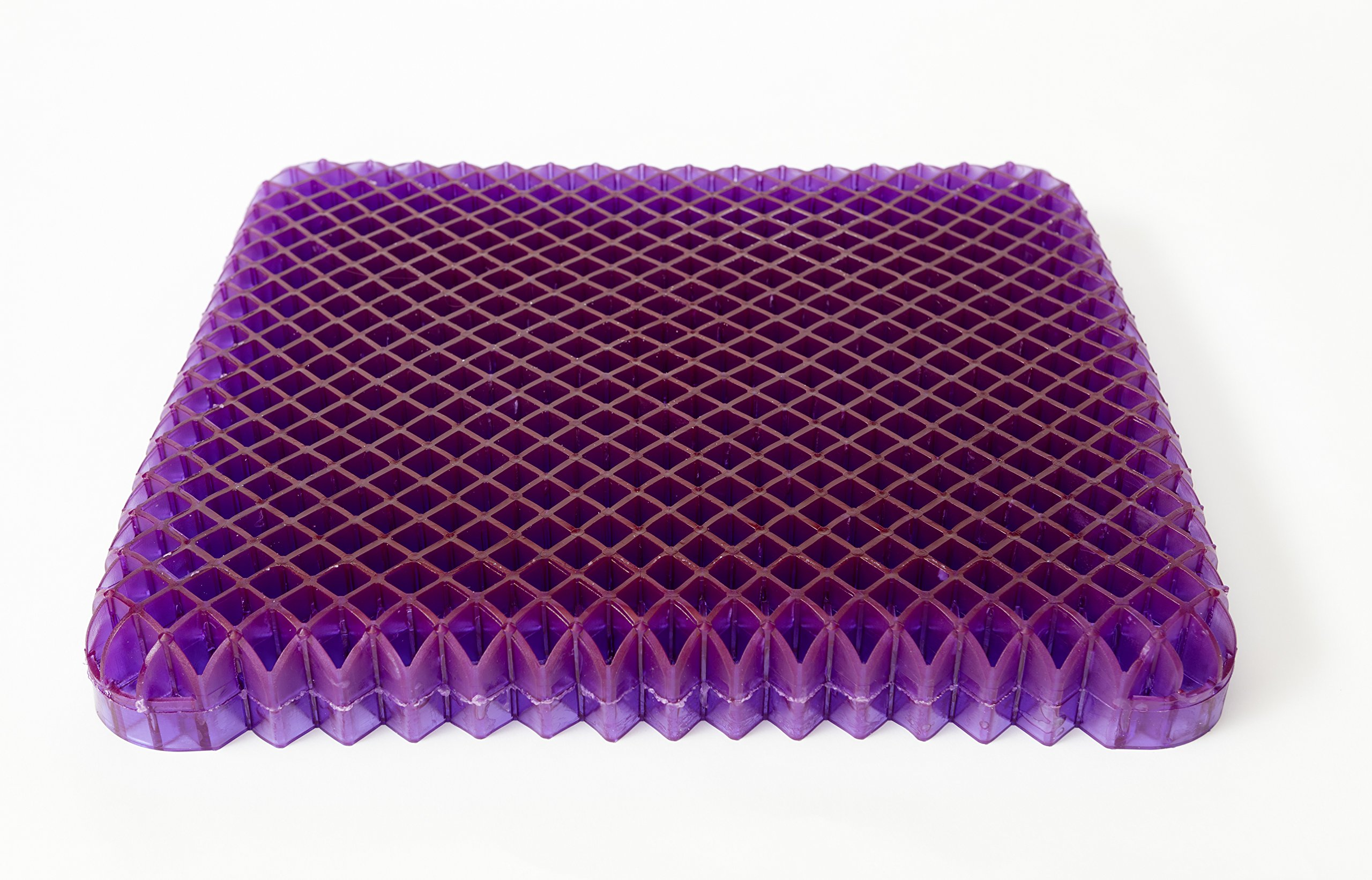 Purple Seat Cushion Royal - Seat Cushion For The Car Or Office Chair - Can Help In Relieving Back Pain & Sciatica Pain