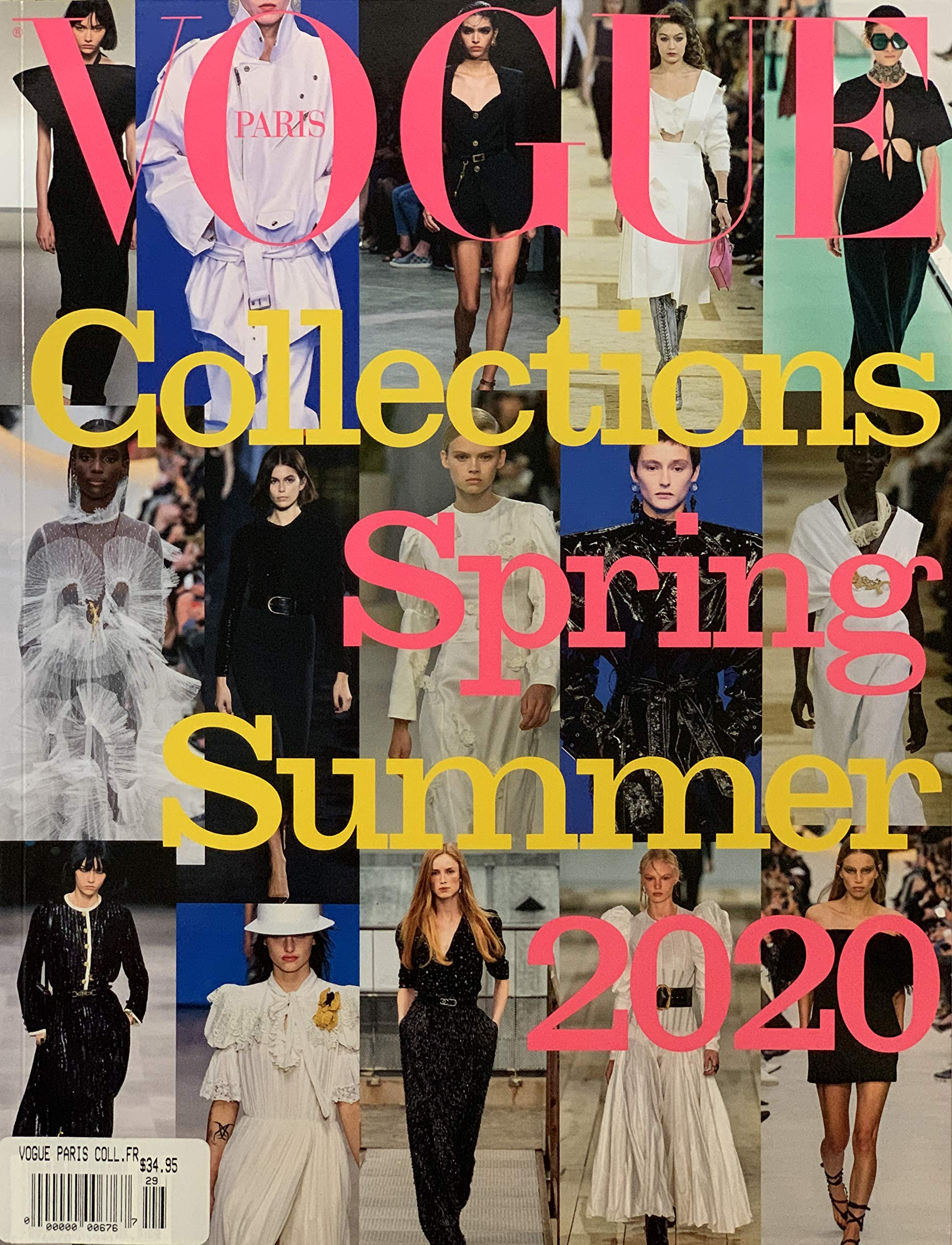 Vogue Paris Collection Magazine Spring Summer 2020 Conde Nast Amazon Com Books