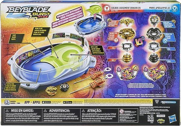 Beyblade Burst Rise Hypersphere Vortex Climb Battle Set toy for kids in package