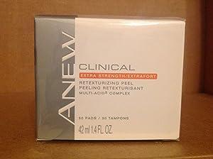 Avon ANEW CLINICAL Extra Strength/Extrafort Retexturizing Peel 30 Pads
