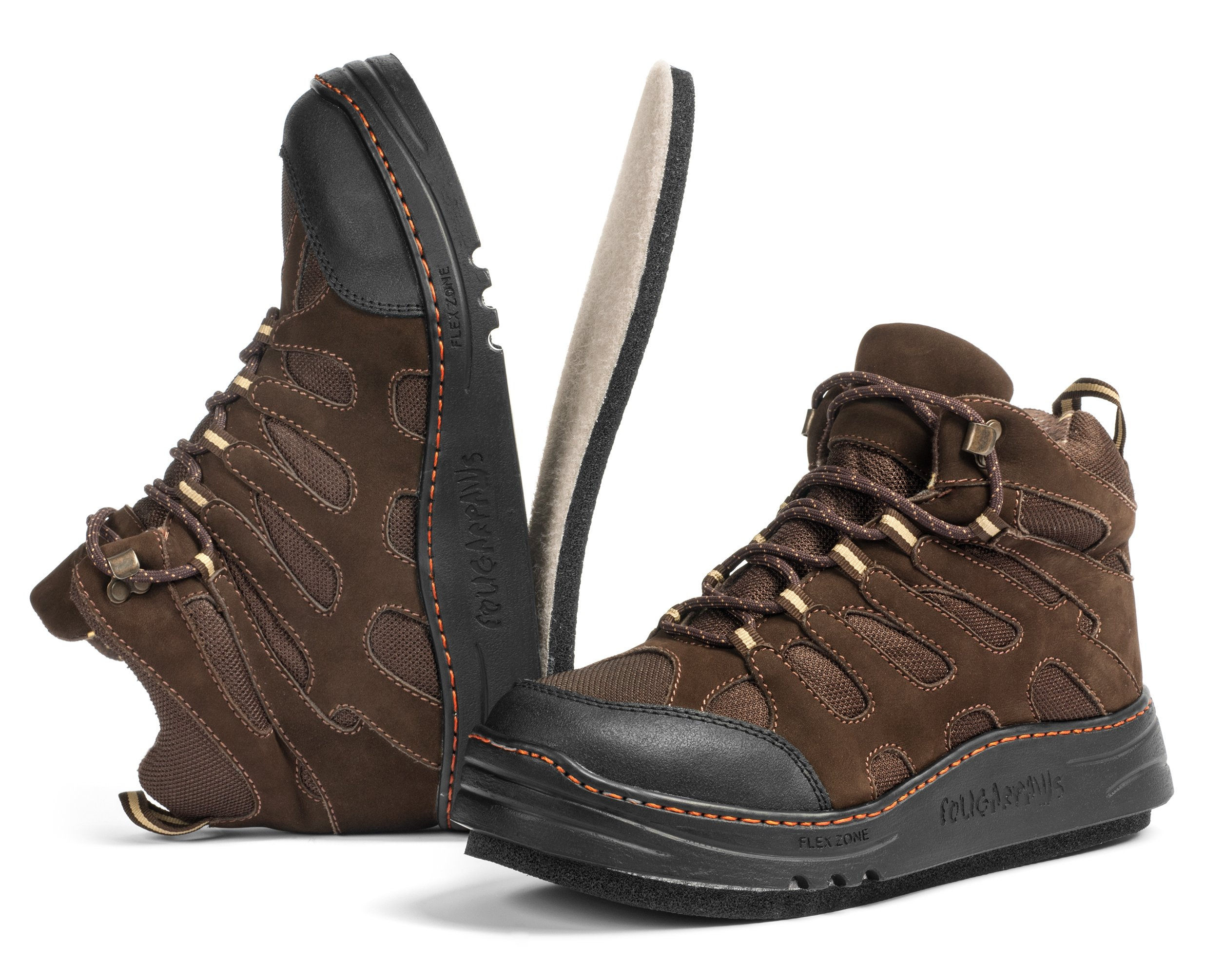 Cougar Paws Men's Estimator Roofing Boot 8.5 Brown