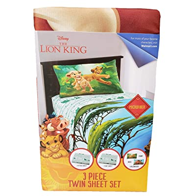 Franco Manufacturing The Lion King 4 Piece Full Size Microfiber Sheet Set: Home & Kitchen
