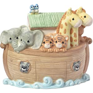 Precious Moments Overflowing with Love Noah's Ark Porcelain Nursery Décor Night Light