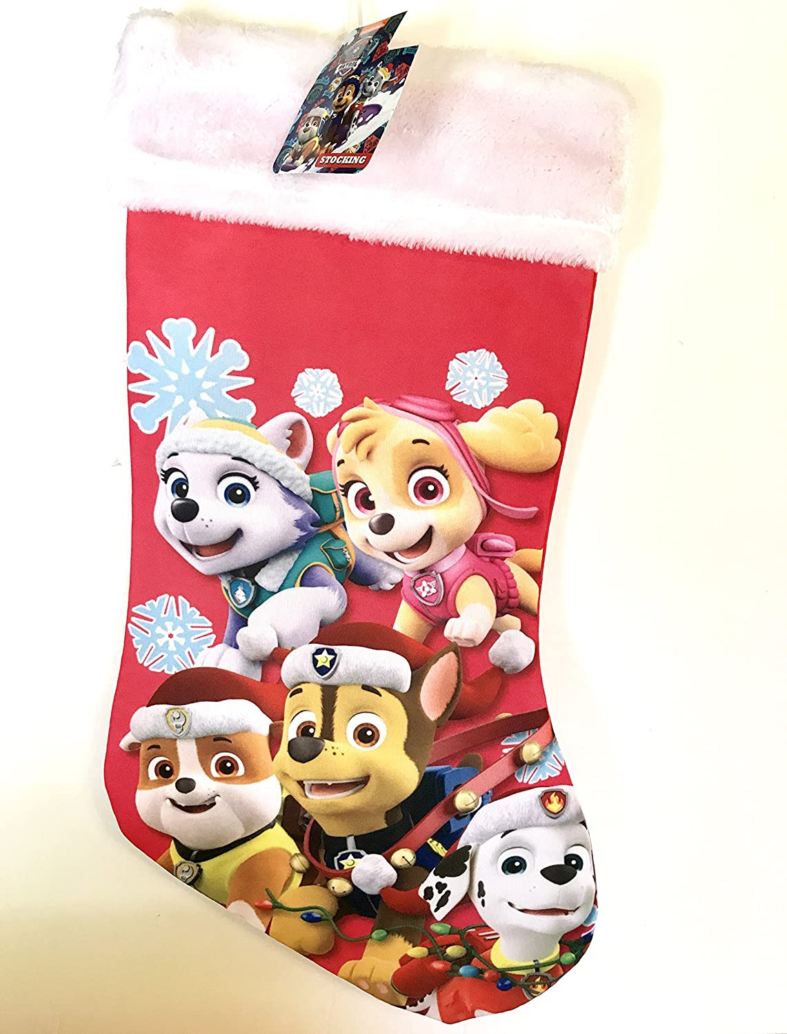 Paw Patrol Team Christmas Stocking!