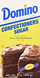 Domino Powdered Confectioners Sugar 16oz - PACK OF 2
