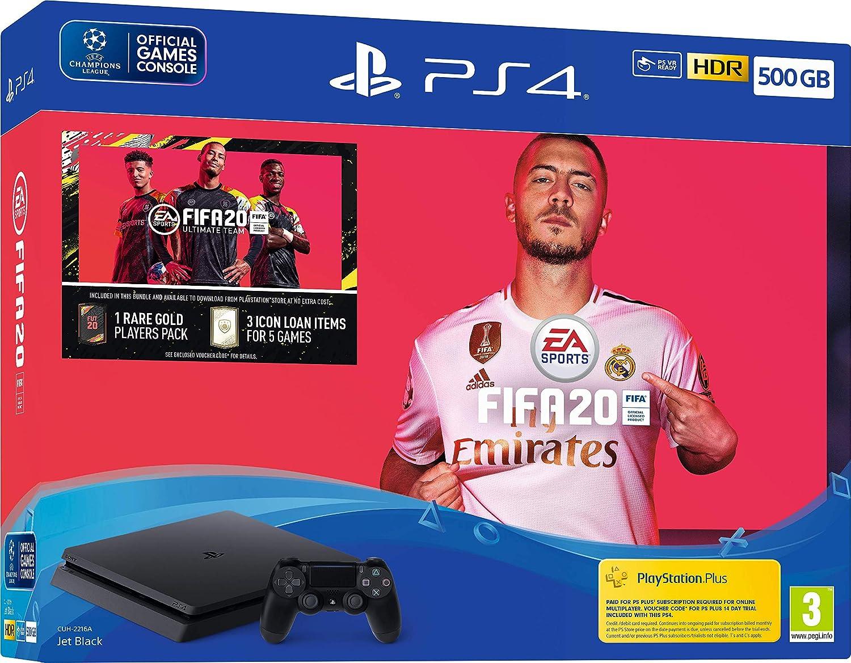 Fifa 20 500GB PS4 Bundle - PlayStation 4 [Importación inglesa ...