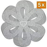 Pookuos Multifunktionale K/üche H/ängeleiste mit 6 S Haken Wandregal Aluminium Gew/ürzregal