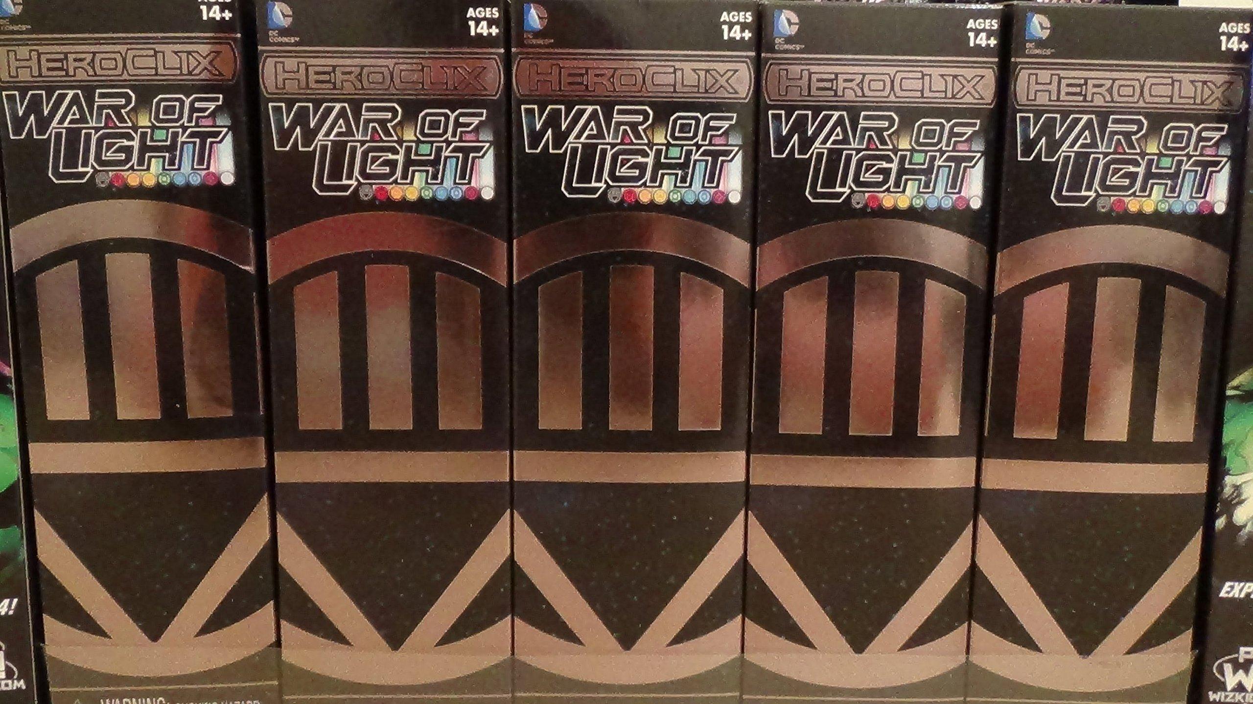 Heroclix War of Light Booster Brick