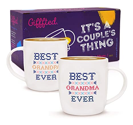 Amazon.com: Tazas de café para abuelos, regalo divertido ...