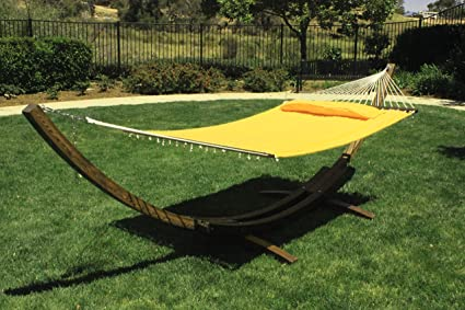 p swing lazy double daze padded hammock deluxe green with seat holder footrestamphardware cup rope supports furniture hammocks outdoor oversized pillow hanging wood stand c garden patio chair zeny lbs cotton tan capacity yard arc
