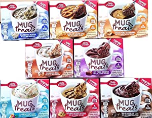 Betty Crocker Mug Treats Muffin & Cake Mixes - Variety Pack - Bundle of 8