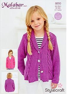 Sirdar supersoft aran girls gilet jacket knitting pattern 2409 stylecraft 9250 knitting pattern girls cardigans to knit in malabar aran dt1010fo
