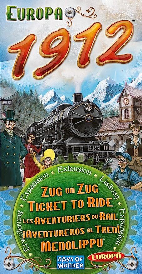 Days of Wonder- Aventureros Al Tren-Europa, Multicolor (720111 ...