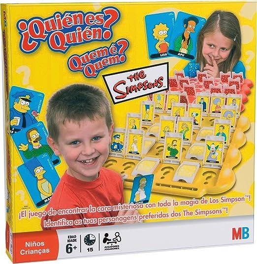Hasbro Juego de Mesa - ¿quién es quién? Simpsons: Amazon.es ...