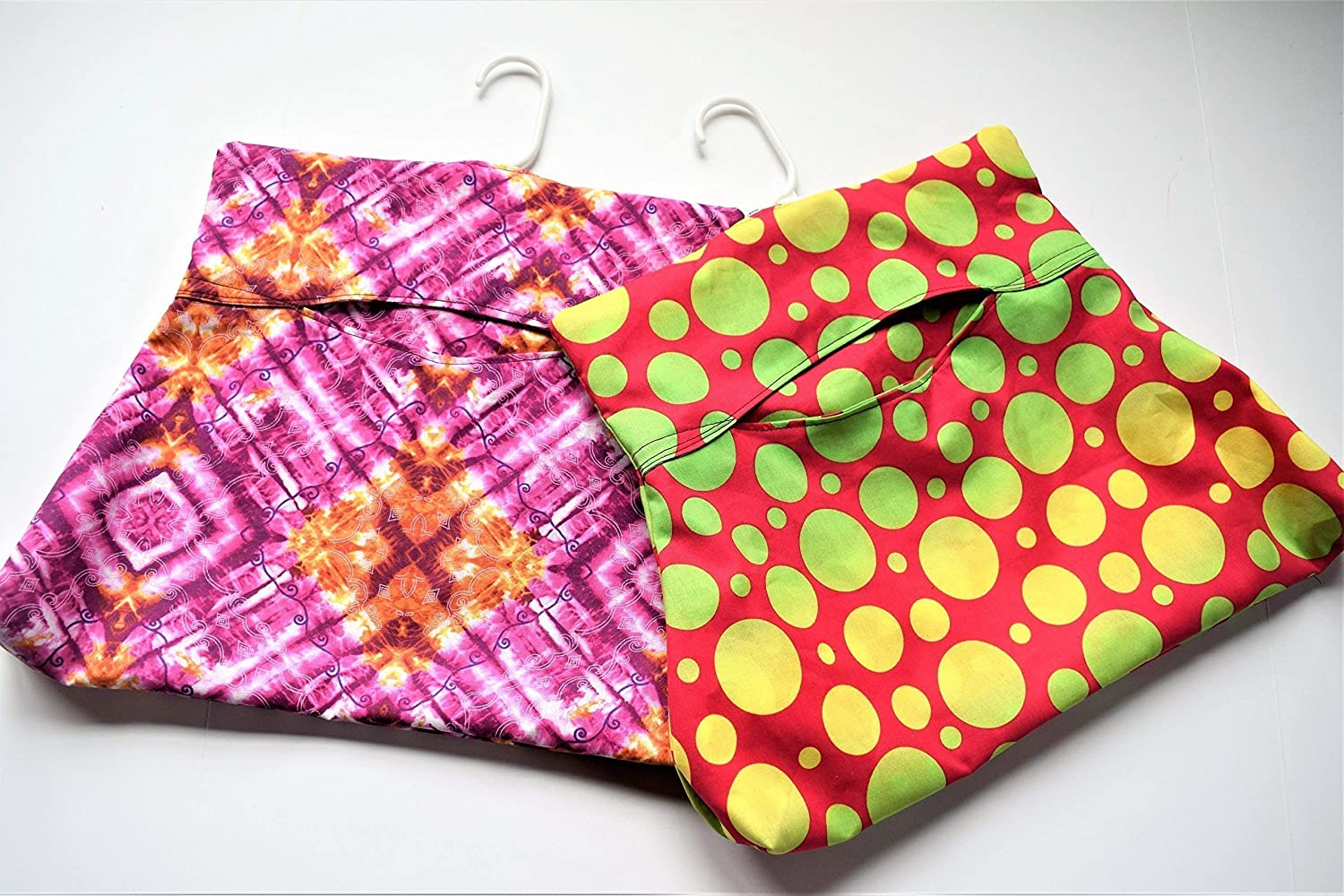 One Large Clothespin Bag,Eco Friendly Peg Bag,Your Choice Farm Cows,Roosters,Basket Weave,Polka Dots,Pink Diamonds,Apples,Love,Flowers Girls
