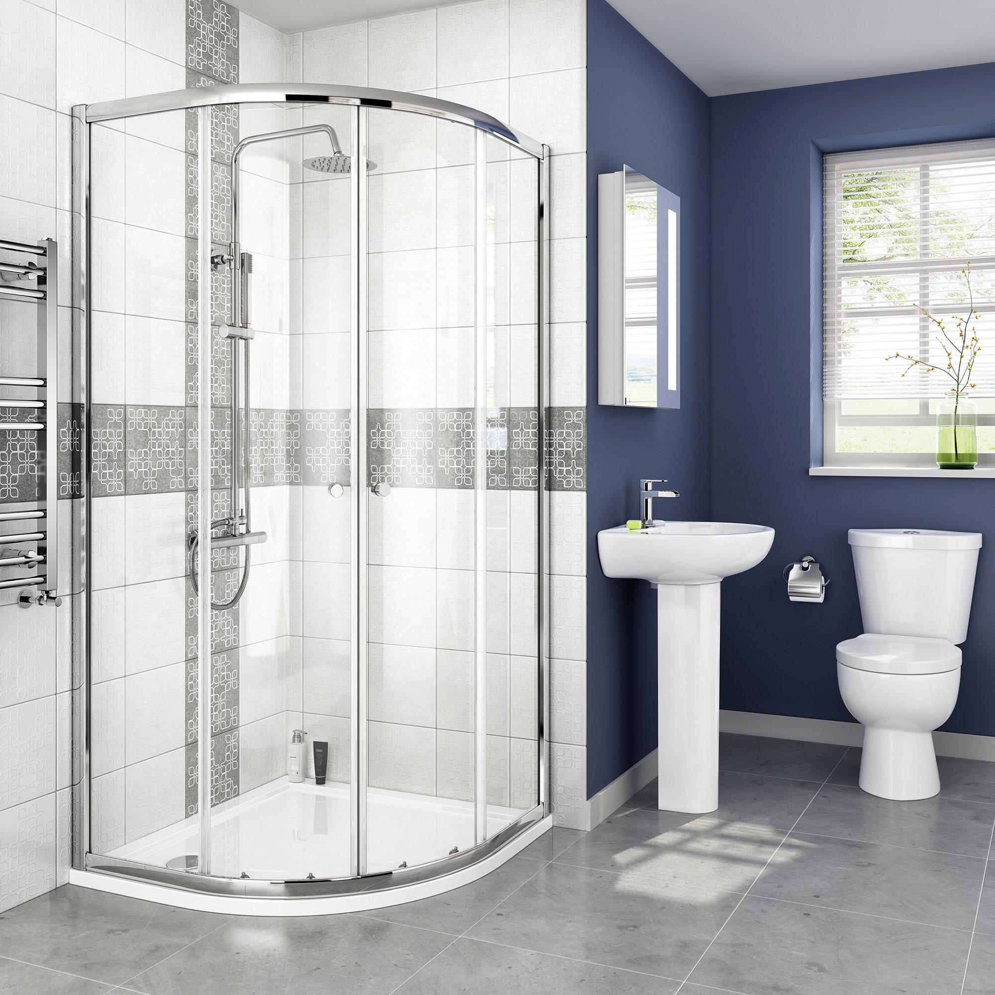 Quadrant Shower Enclosure: Amazon.co.uk