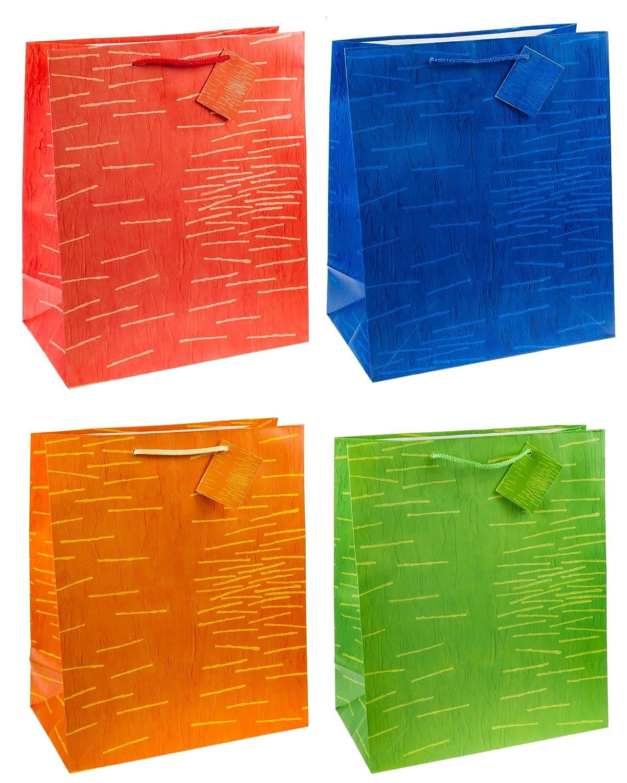 32 x 26 x 13,5 cm 12er Packung Gr/ö/ße: Gro/ß TSI 85311 Geschenkbeutel Laura