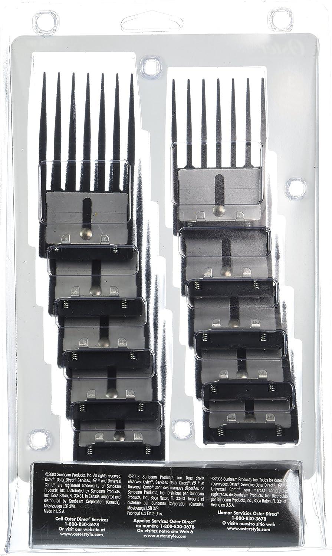 Juego de 10 peines Oster Professional especialmente diseñado para ...