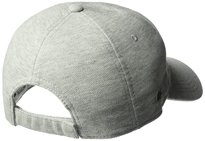 Lacoste Hombres Mens Cotton Pique Cap, Rk0123 Gorra de béisbol ...