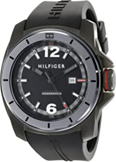 Tommy Hilfiger Mens 1791114 Cool Sport Black Watch