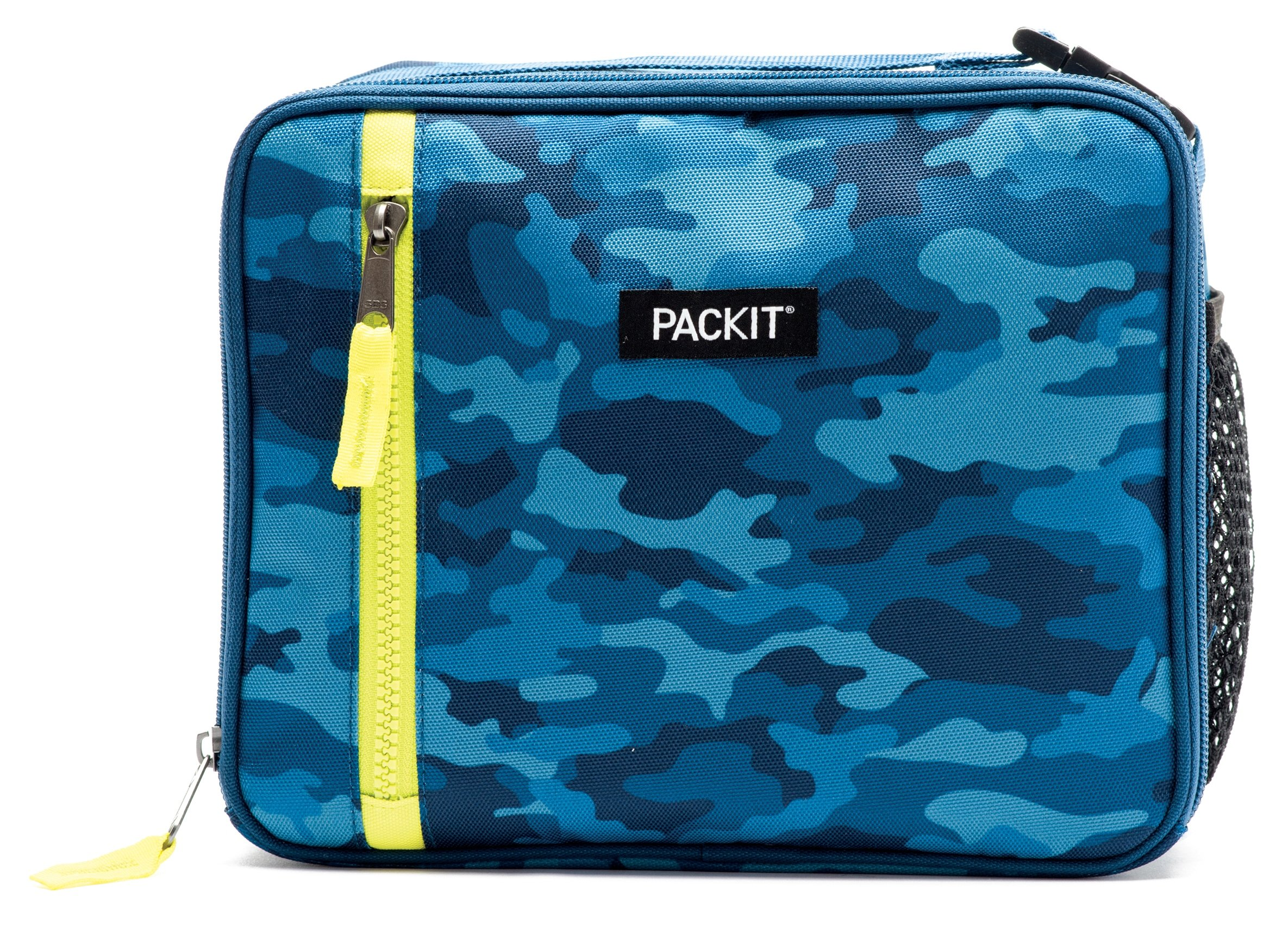 PackIt Freezable Classic Lunch Box, Blue Camo by PackIt (Image #2)