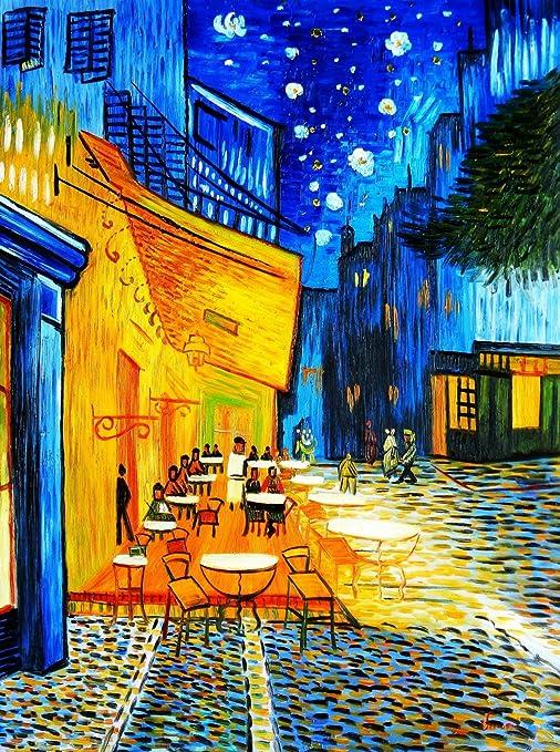 Vincent Van Gogh Terraza De Café Por La Noche 90 X 120 Cm
