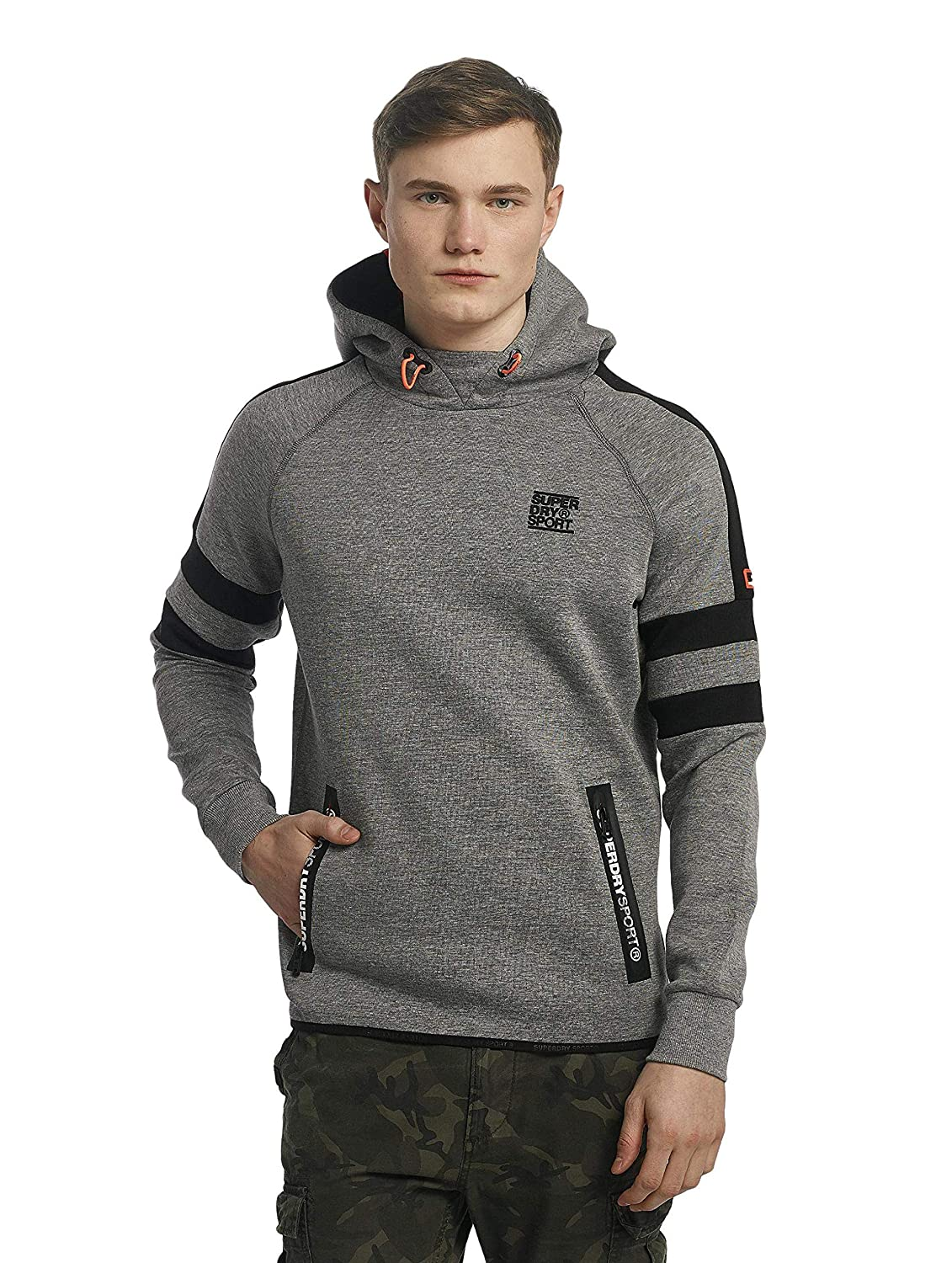 Sweater & Fleece Kapuzensweatshirts Gym Tech Stripe Overhead M20008pq-Ae3